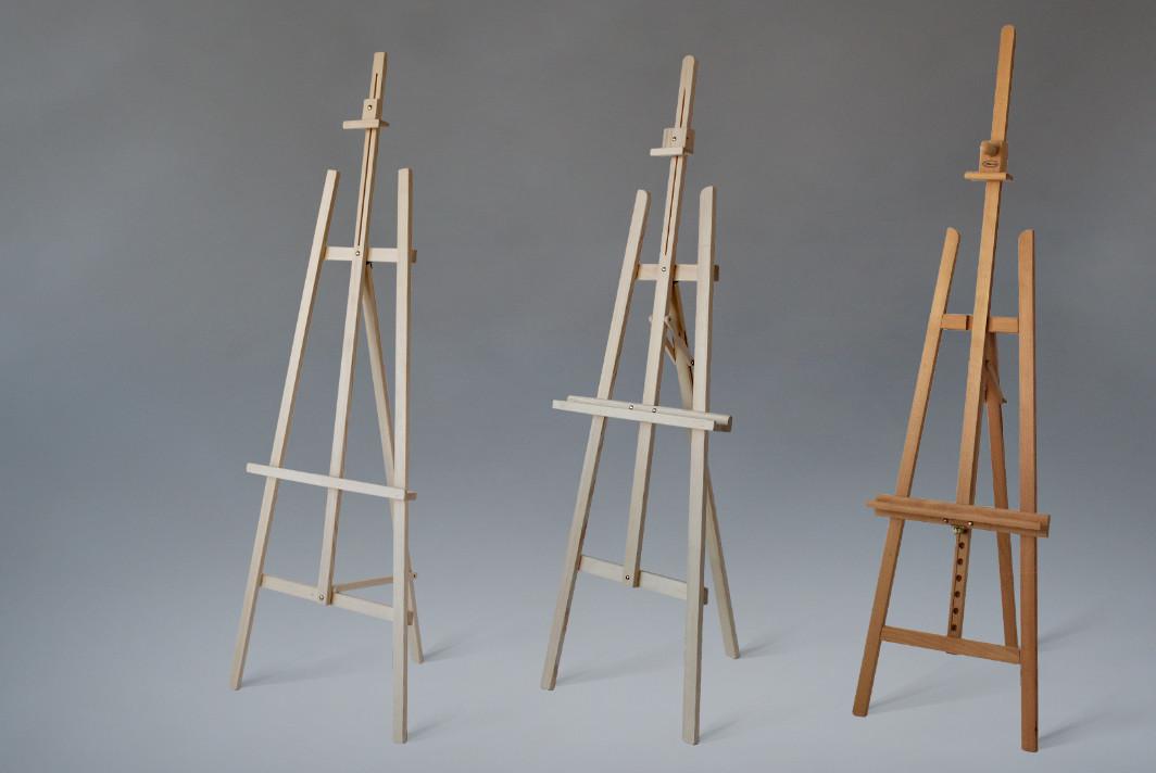 Sztalugi trójnożne wystawowe i malarskie